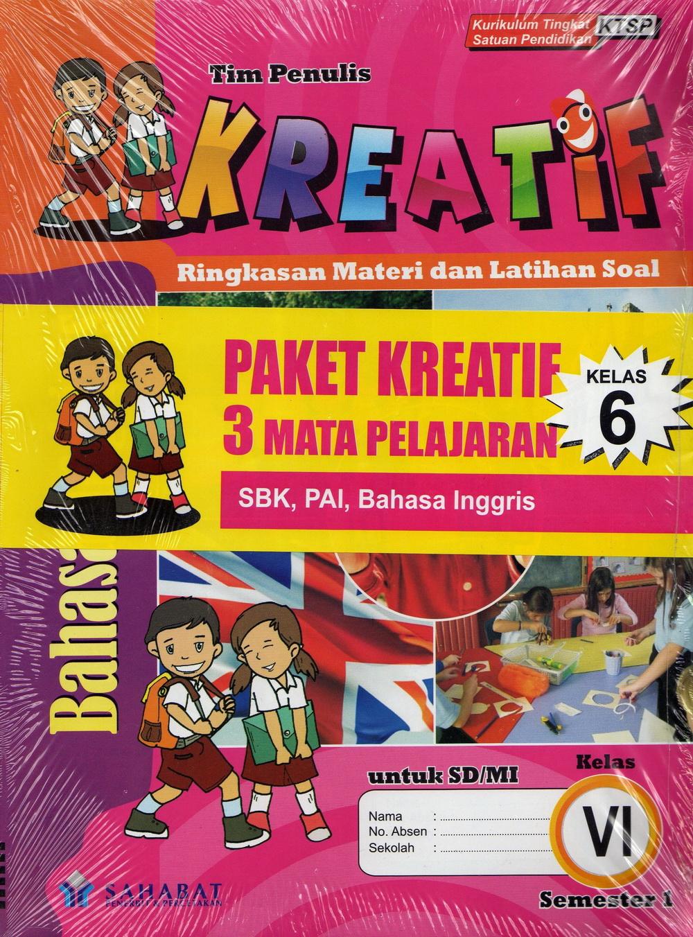 Paket Lks Kreatif Untuk Sekolah Dasar Semester I Toko Buku Online Diandra