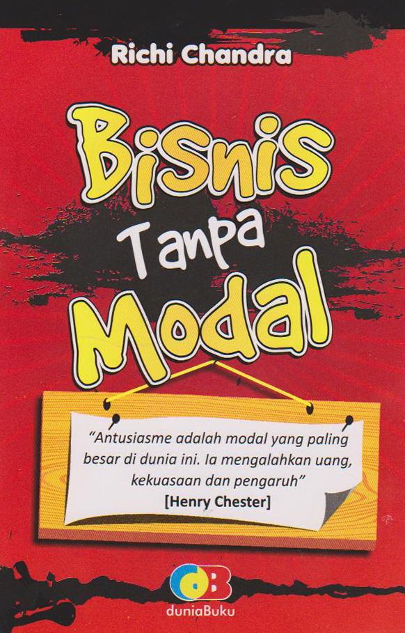 BISNIS TANPA MODAL | - Toko Buku Online Diandra