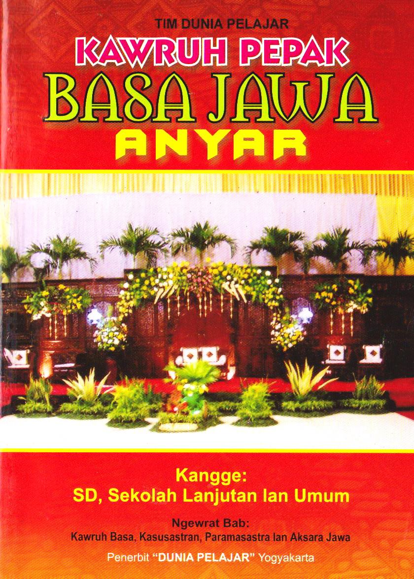 Kawruh Pepak Basa Jawa Anyar Toko Buku Online Diandra