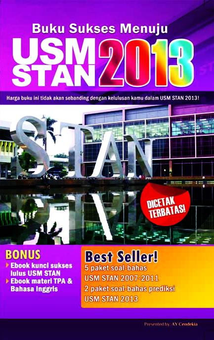 Buku Sukses Menuju Usm Stan 2013 Toko Buku Online Diandra