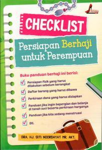 checklist persiapan haji