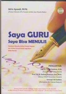 Saya Guru Saya Bisa Menulis